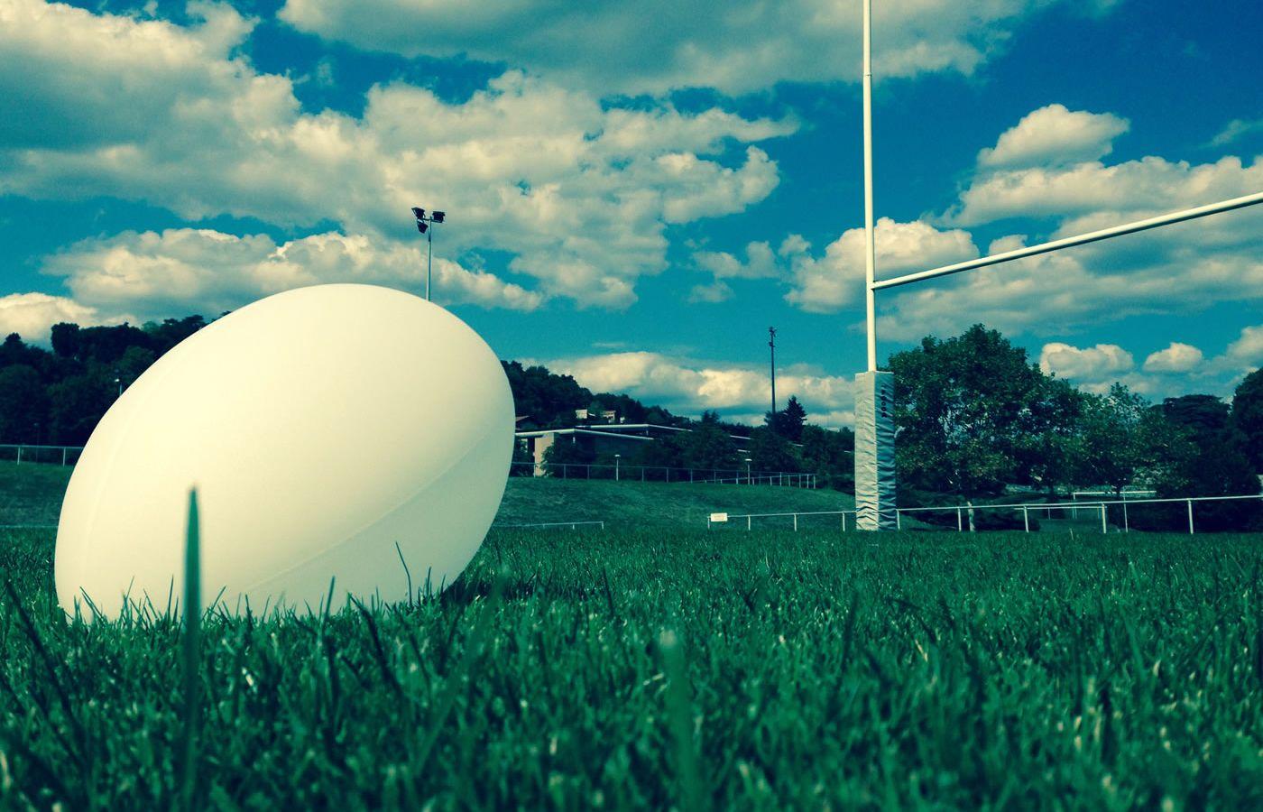 Bonne fête papa, ballon de rugby lumineux Ellis