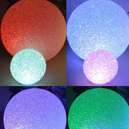 Boule effet cristal 20 cm