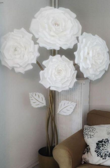 lampadaire rose design