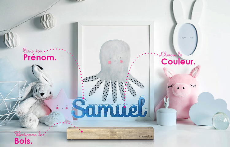 Lampes d'ambiance personnalisables