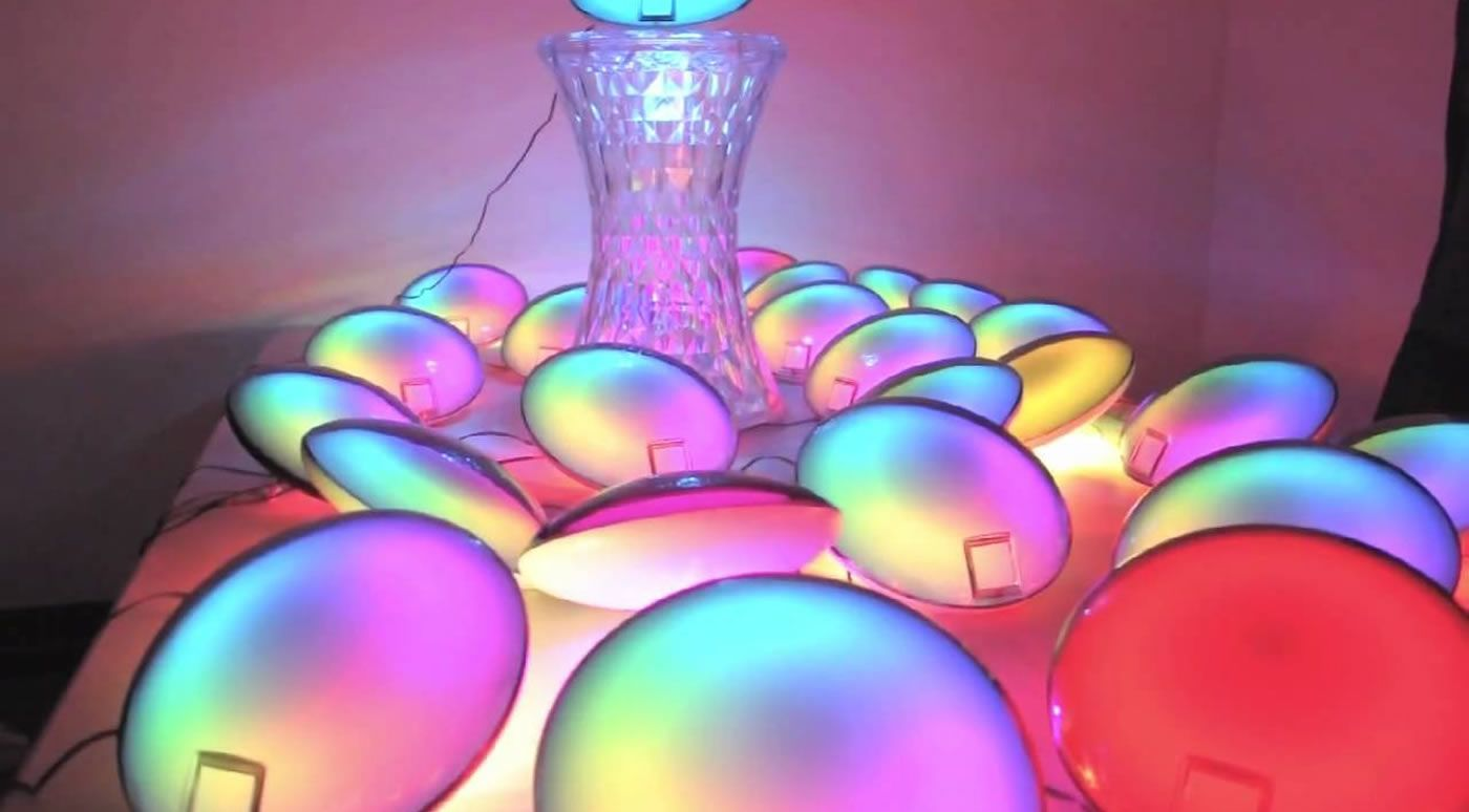 Lampe LED jellyfish