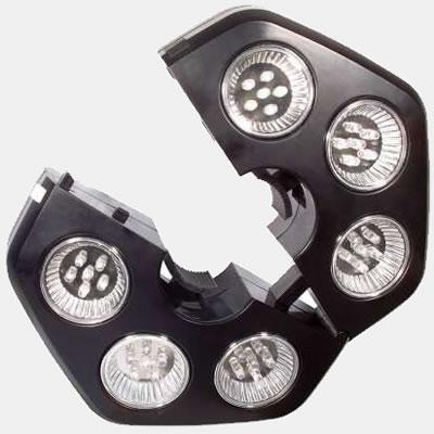 Lampe LED clips pour parasol