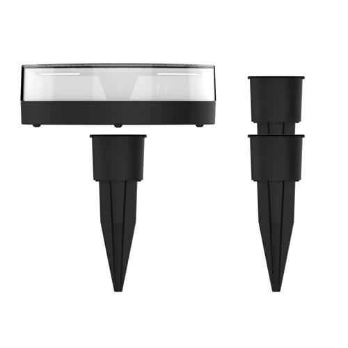 Lampe LED solaire avec son piquet