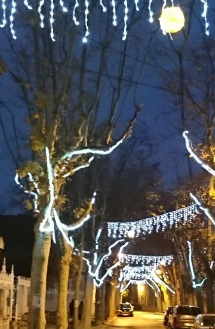 Décoration de Noël à Millery 69