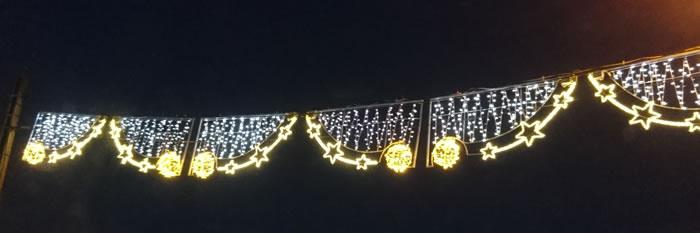 Les guirlandes de Noël