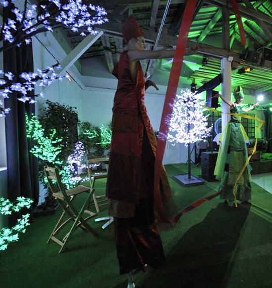 Animations à la nuit de l'événementiel
