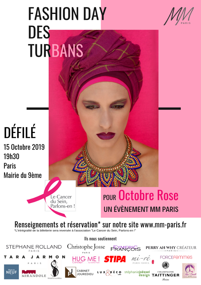 Octobre Rose le Fashion Day des Turbans