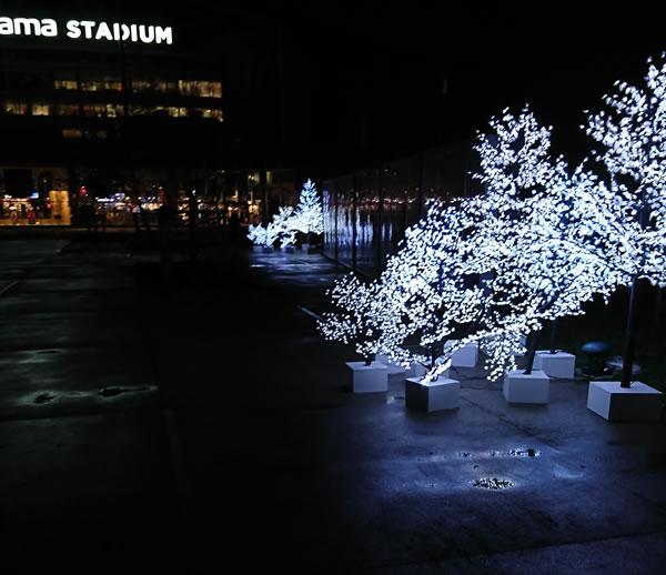 Forêts lumineuses à l'Olympique Lyonnais