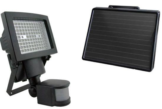 Projecteur LED solaire 1000 lumens