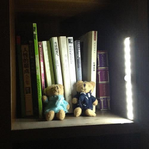Réglette LED à piles