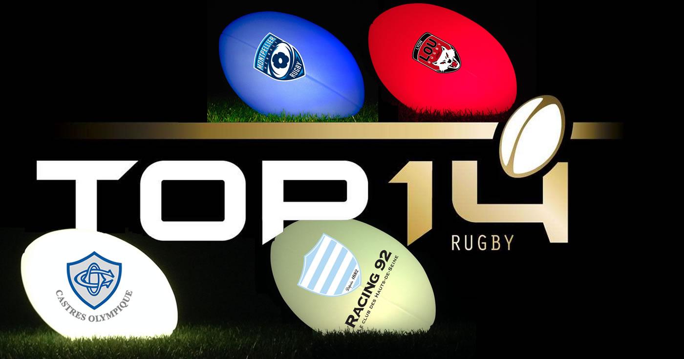 Fête des pères, ballon de rugby lumineux