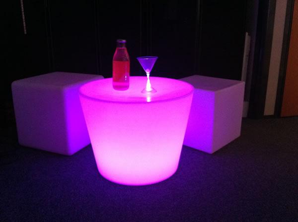 Table lumineuse sans fil