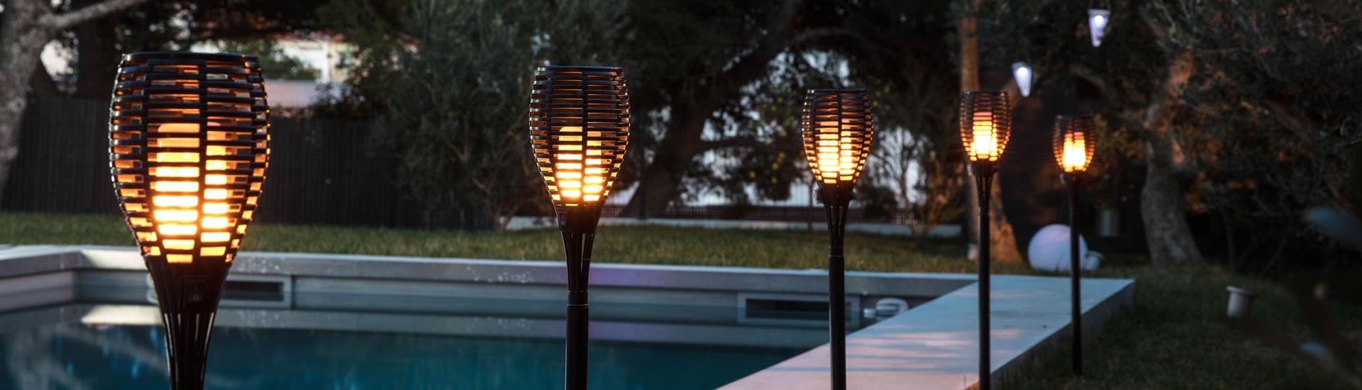 Torche LED pour Halloween