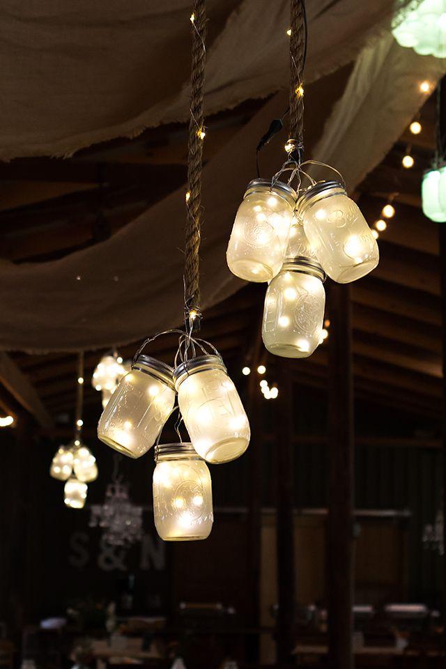 guirlandes LED en bocal