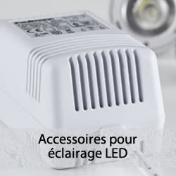 Accessoires pour l'éclairage LED
