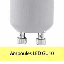 Ampoules LED GU10 spots
