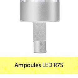 Ampoules LED R7S halogènes