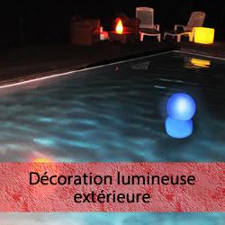 Décoration lumineuse extérieure