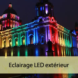 Eclairage LED exterieur