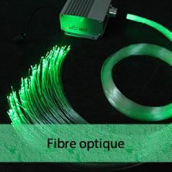 Fibre optique LED