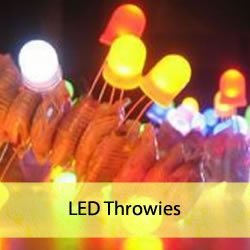 LED throwies lancer de LED