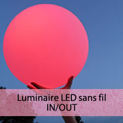 Luminaires LED sans fil IN/OUT