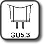 Culot MR16 GU5.3