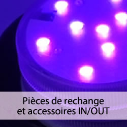 Accessoires pour formes lumineuses IN/OUT