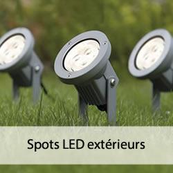 Spots LED pour l'extérieur