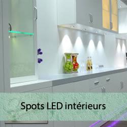 Spots LED pour l'intérieur