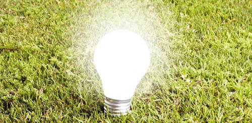Luminaire avec ampoule LED