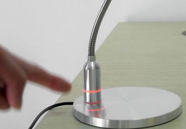 Liseuse LED éclairage tactile