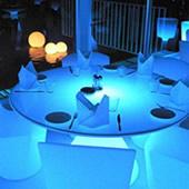 Table lumineuse design