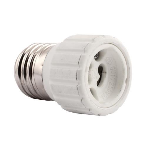 adaptateur e27 pour ampoule gu10 accessoires de montage. Black Bedroom Furniture Sets. Home Design Ideas
