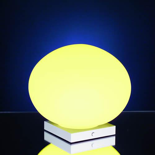 Globe verre led lumineux ambiance lumineuse - Globe lumineux exterieur ...