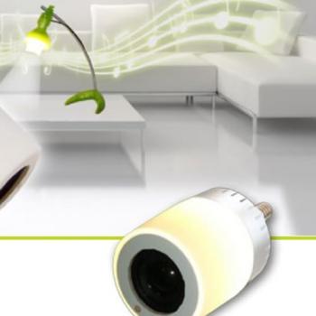 AMPOULE LED E14 AVEC HAUT PARLEUR