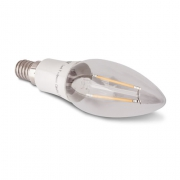 AMPOULE LED E14 A FILAMENT 2W BLANC CHAUD