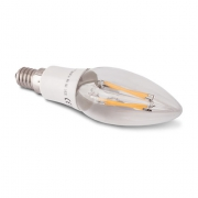 AMPOULE LED E14 A FILAMENT 4W BLANC CHAUD