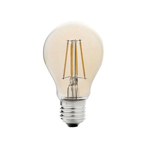 Ampoule LED E27 standard à filaments ambrée