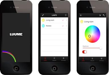 Application Luume