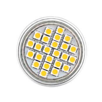 AMPOULE SPOT 24 LED E27 BLANC CHAUD