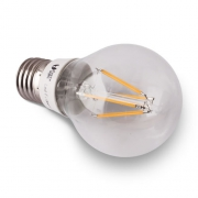 AMPOULE LED E27 A FILAMENT 4W BLANC CHAUD