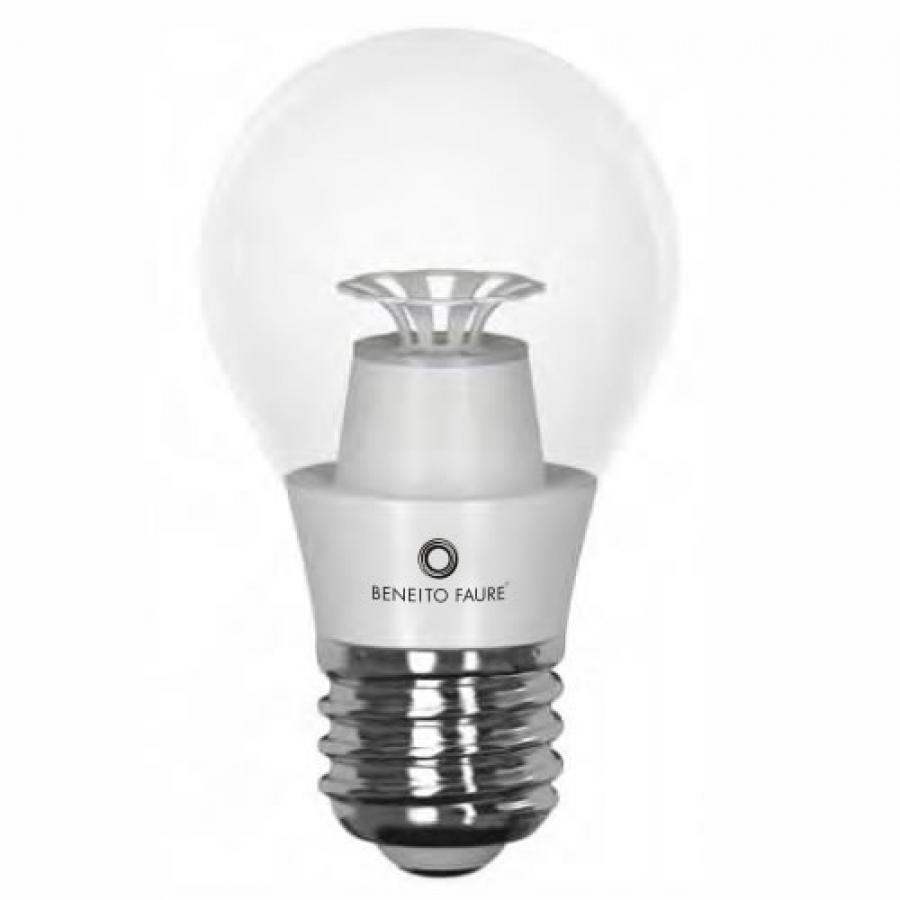 ampoule led e27 transparente ronde lumi re blanche. Black Bedroom Furniture Sets. Home Design Ideas