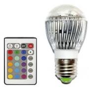 AMPOULE LED RVB E27 9W