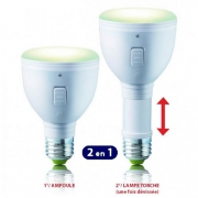 AMPOULE LED E27 RECHARGEABLE