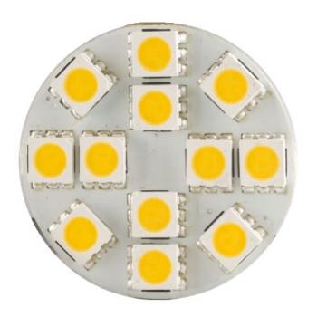 AMPOULE 12 LED G4 12V BACK PINS