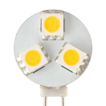 AMPOULE 3 LED G4 RONDE