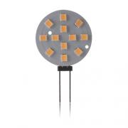 AMPOULE LED G4 RONDE 3W BLANC CHAUD