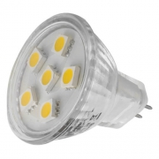AMPOULE 6 LED MR11 BASE G4 12V