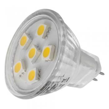 AMPOULE 6 LED MR11 BASE G4 12V